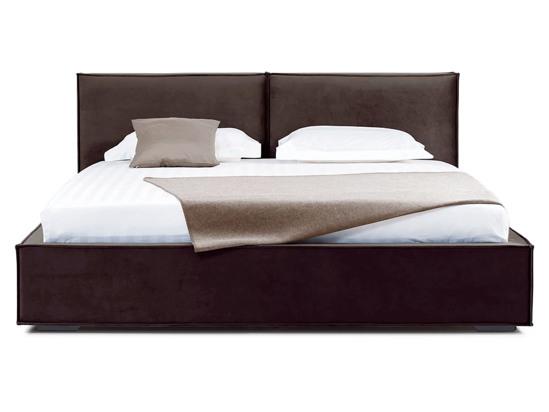 Ліжко Скарлет 200x200 Коричневий 2 -2