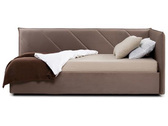 Ліжко Вероніка Luxe 120x200 Коричневий 2 -3