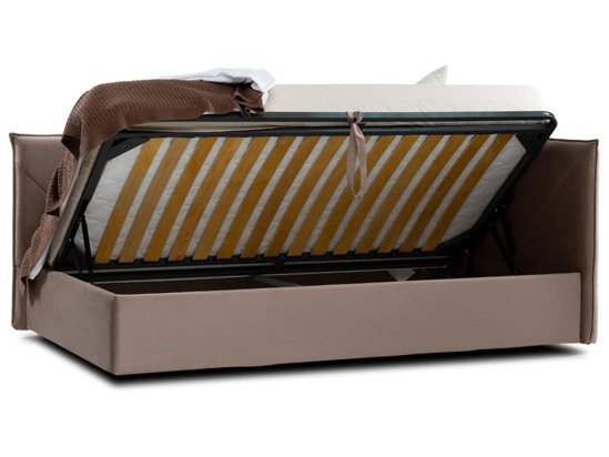 Ліжко Вероніка Luxe 120x200 Коричневий 2 -4
