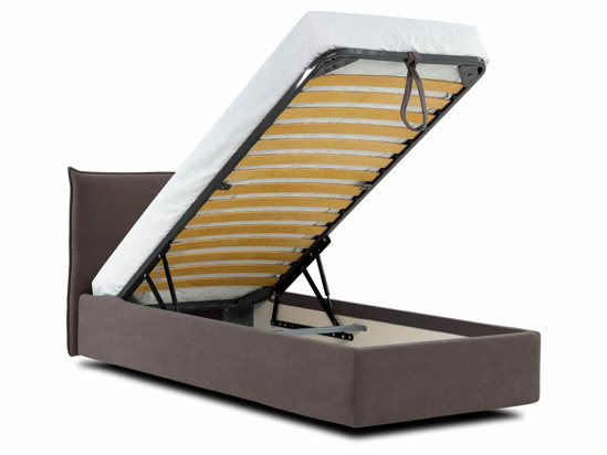 Ліжко Ніка Luxe 120x200 Коричневий 2 -4