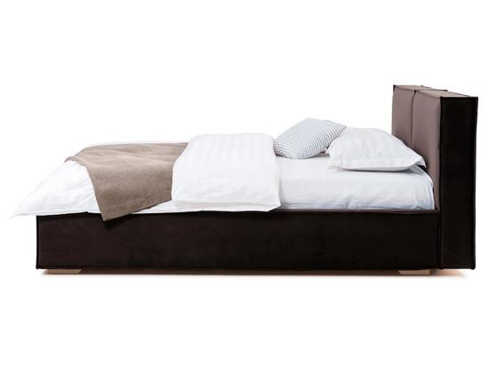 Ліжко Скарлет Luxe 200x200 Коричневий 2 -3