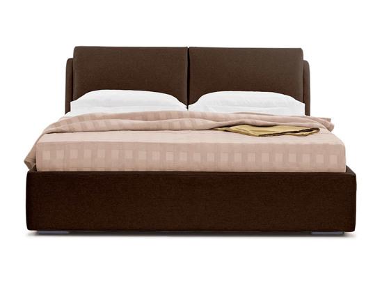 Ліжко Стеффі Luxe 200x200 Коричневий 2 -2