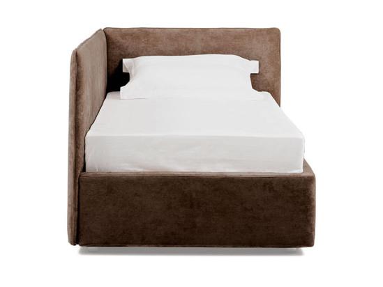 Ліжко Полина Luxe 90x200 Коричневий 2 -2