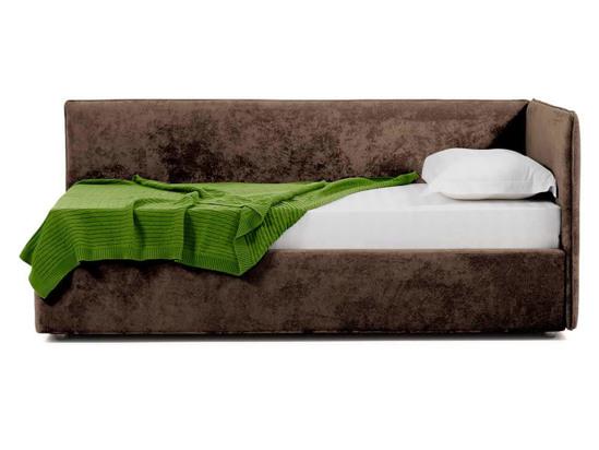 Ліжко Полина Luxe 90x200 Коричневий 2 -3