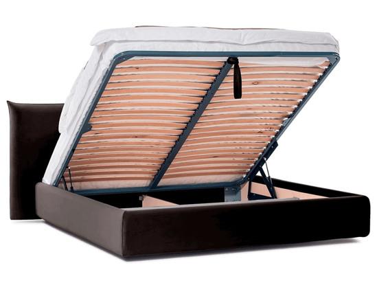 Ліжко Ніколь Luxe 180x200 Коричневий 2 -4