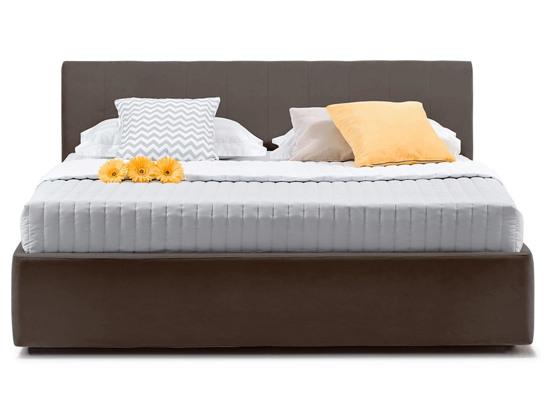 Ліжко Єва міні Luxe 200x200 Коричневий 2 -2