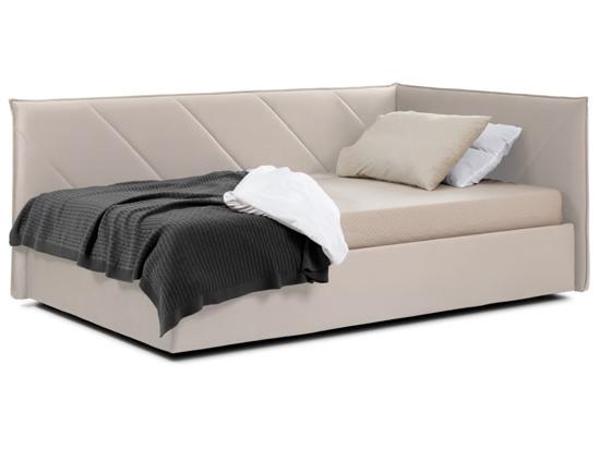 Ліжко Вероніка Luxe 120x200 Бежевий 2 -1