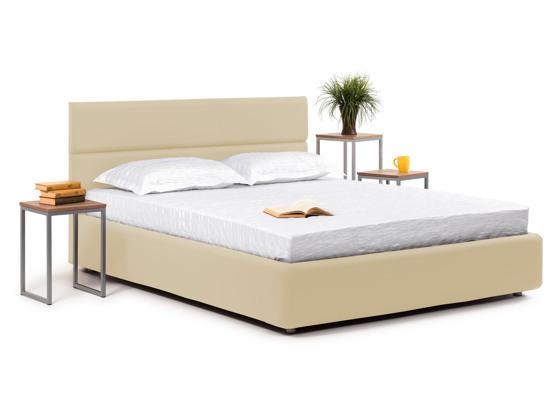 Ліжко Лаура Luxe 200x200 Бежевий 2 -1