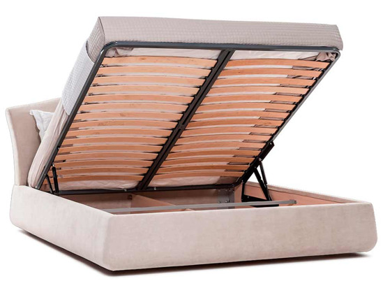 Ліжко Марго Luxe 200x200 Бежевий 2 -4