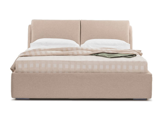 Ліжко Стеффі Luxe 200x200 Бежевий 2 -2