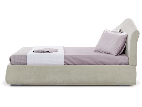 Ліжко Марго 140x200 Сірий 2 -3