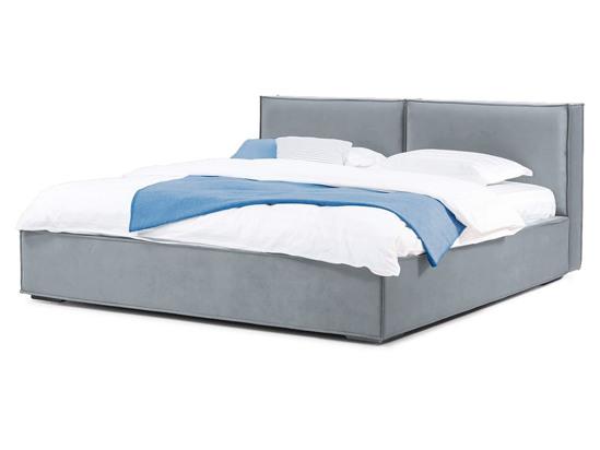 Ліжко Скарлет 200x200 Сірий 2 -1