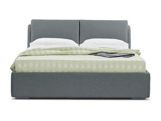 Ліжко Стеффі Luxe 200x200 Сірий 2 -2