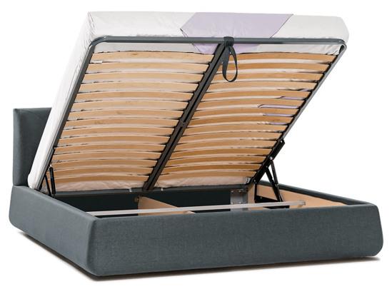 Ліжко Фаїна Luxe 200x200 Сірий 2 -4