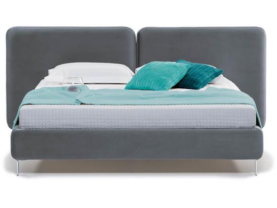 Ліжко Моніка 160x200 Сірий 2 -2