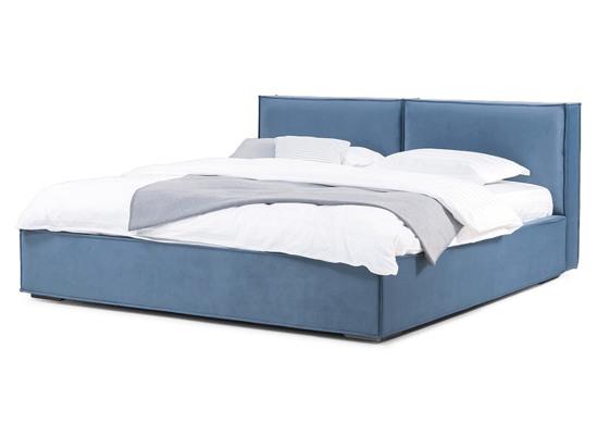 Ліжко Скарлет 200x200 Синій 2 -1