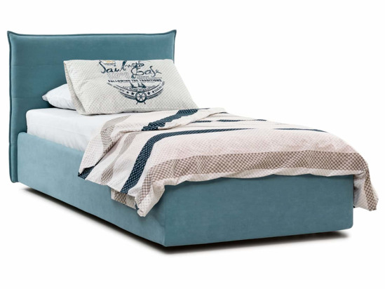 Ліжко Ніка Luxe 90x200 Синій 2 -1