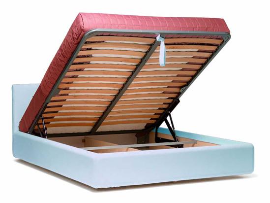 Ліжко Джулія Luxe 200x200 Синій 2 -4