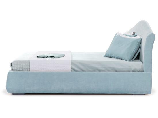 Ліжко Марго Luxe 200x200 Синій 2 -3