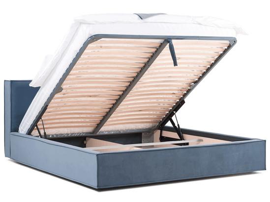 Ліжко Скарлет Luxe 200x200 Синій 2 -4