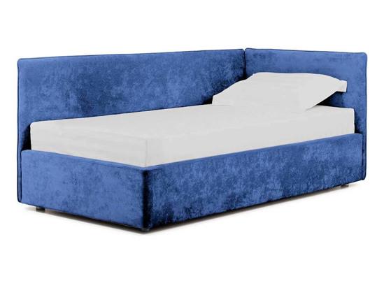 Ліжко Полина Luxe 90x200 Синій 2 -1