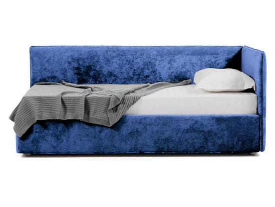 Ліжко Полина Luxe 90x200 Синій 2 -3
