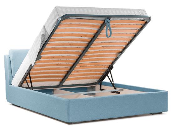 Ліжко Стеффі Luxe 160x200 Синій 2 -4