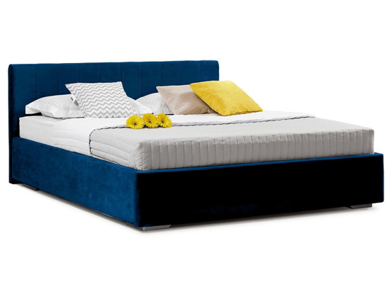 Ліжко Єва міні Luxe 180x200 Синій 2 -1
