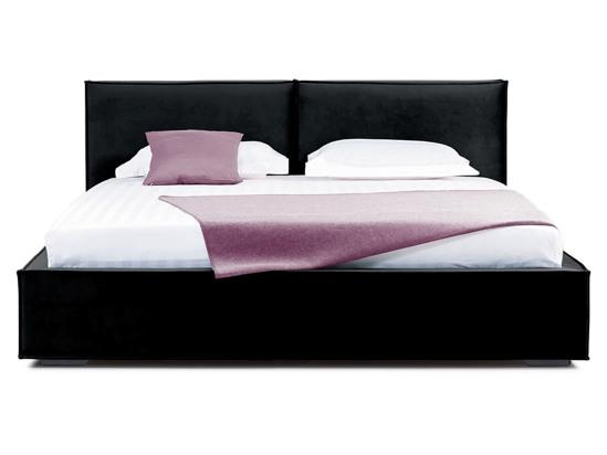 Ліжко Скарлет 200x200 Чорний 2 -2