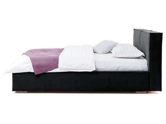 Ліжко Скарлет 200x200 Чорний 2 -3