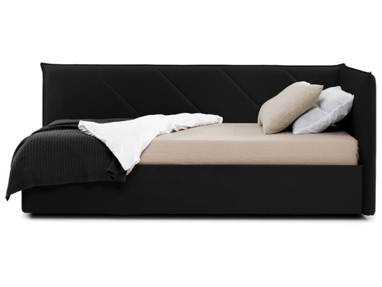 Ліжко Вероніка Luxe 120x200 Чорний 2 -3