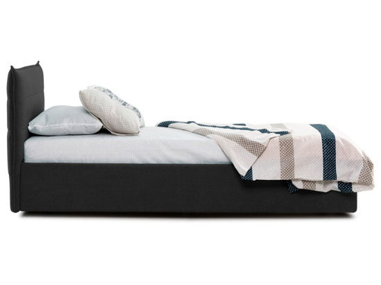 Ліжко Ніка 90x200 Чорний 2 -3