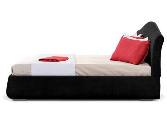 Ліжко Марго Luxe 200x200 Чорний 2 -3