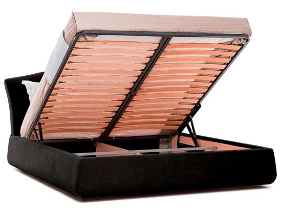 Ліжко Марго Luxe 200x200 Чорний 2 -4