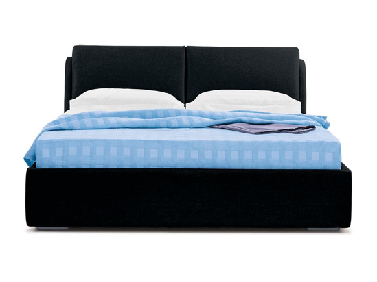 Ліжко Стеффі 200x200 Чорний 2 -2