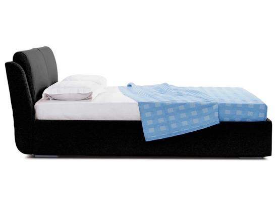 Ліжко Стеффі Luxe 200x200 Чорний 2 -3