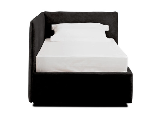 Ліжко Полина 90x200 Чорний 2 -2