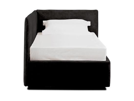 Ліжко Полина 120x200 Чорний 2 -2