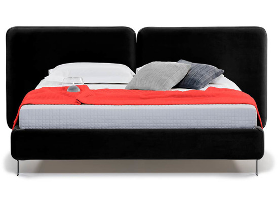Ліжко Моніка 160x200 Чорний 2 -2