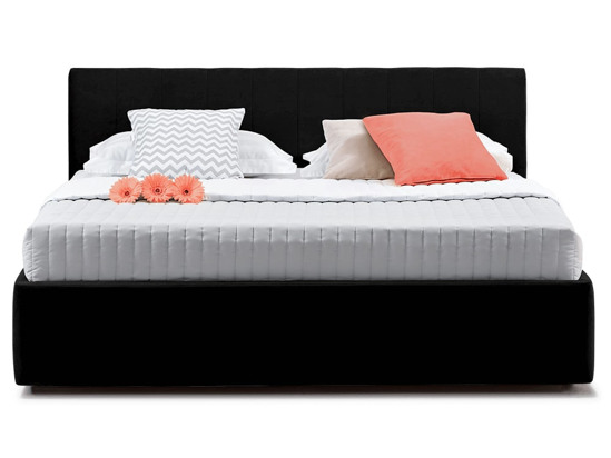Ліжко Єва міні Luxe 90x200 Чорний 2 -2