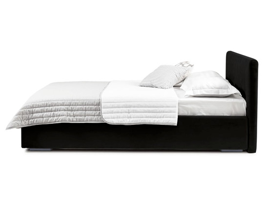Ліжко Єва міні Luxe 200x200 Чорний 2 -3