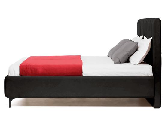 Ліжко Сандра 200x200 Чорний 2 -3