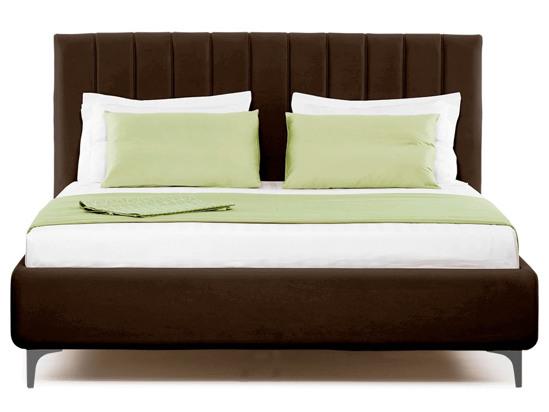 Ліжко Сандра 200x200 Коричневий 2 -2