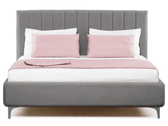 Ліжко Сандра Luxe 200x200 Сірий 2 -2