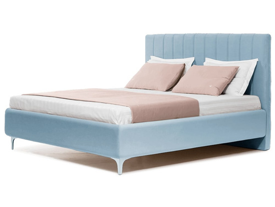 Ліжко Сандра 160x200 Синій 2 -1