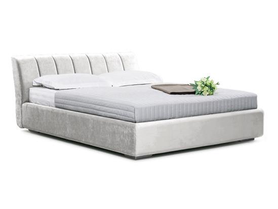 Ліжко Барбара 200x200 Білий 2 -1