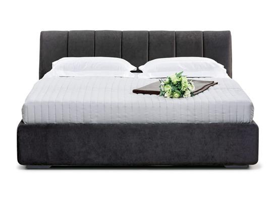 Ліжко Барбара 200x200 Чорний 2 -2