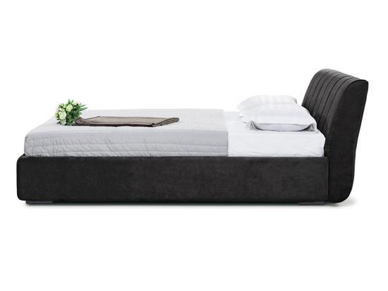 Ліжко Барбара 200x200 Чорний 2 -3