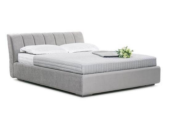 Ліжко Барбара Luxe 200x200 Сірий 2 -1