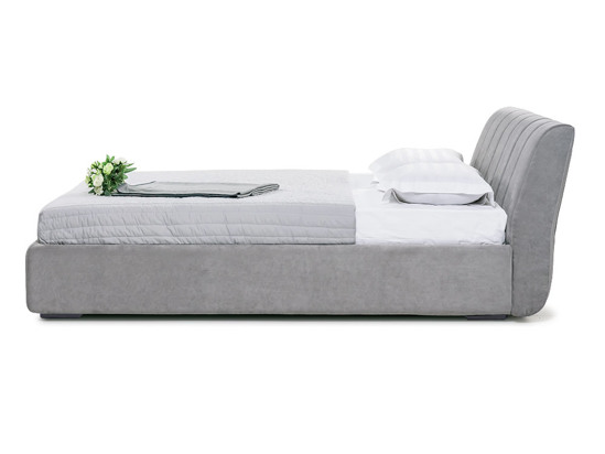 Ліжко Барбара Luxe 200x200 Сірий 2 -3